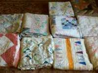 These quilts would be perfect for crafting such as