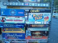 I've got several board games for sale;  Vintage Board