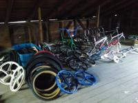 I have an attic full of old bmx stuff I want to sell.