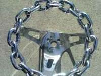 origional chain steering wheel.  Location: modesto