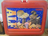 I have two old school lunchboxes for sale. One is an