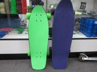 WE HAVE NEW OLDSCHOOL COMPLETE CRUISER SKATEBOARDS. YOU
