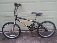 $100 Vintage BMX GT Interceptor Black Bicycle Bicycle