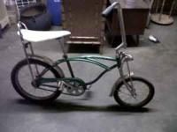 "OLD SCHWINN STINGRAY 20"" BIKE - $175 -  Location:"