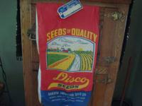 OLD  SEED  BAGS  I have several old/nostalgic seed