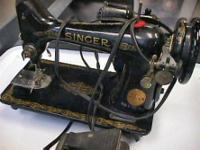old SINGER Sewing Machine - No cabinet, Maybe good for
