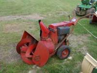 for sale i have a snow bird thrower for parts or to