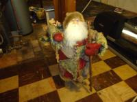 Old St. Nick, he is about 3 feet tall, so handsome, he