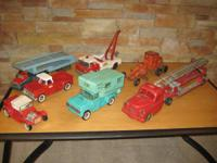 Steel Toys - From the 1950's and 1960's - These were