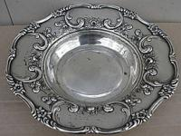 This is a solid sterling silver bowl that is 7 1/2