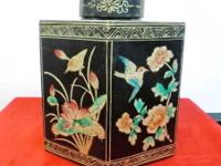 This old tea leaf storage box is from Southern China