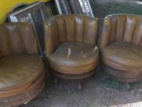 Up for sale is an old, antique or retro telephone chair