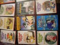 old time cartoon movies, some are in black and white,