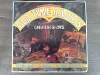 Old Time Radio's Greatest Shows, 60 programs, 20 Audio