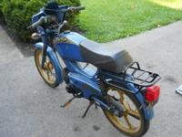 Very old Tomos moped. True barn find! Complete. Hasn't