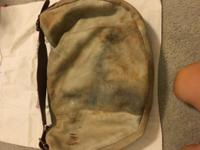 Old trend cozy lamb hobo bag with tags, perfect