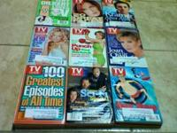 lot of TV Guides, weekly issues in good shape 1997 Jan