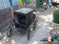 Vintage horse buggy Cal for ferther detailers AT this
