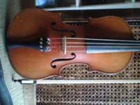 I have my old violín for sale Im asking 200 obo copy of