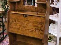 old Wood Secretary Desk    Get there 1st and check it