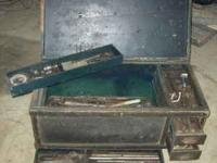 Old Wooden Tool Chest This is an wooden tool chest that