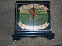 Old world Golf CD wood case  // //]]> Location: webster