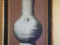 "Old World Vase wall art measuring 27-1/2"" W x 37-1/2"""