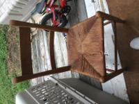 Old wooden chair $10
