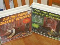 We have 2 sets of the Old Time Radio Greatest Mysteries