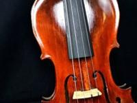 This is a beautiful old Jacob Stainer violin. Made at