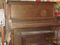 I've had this old piano sitting in my house for years