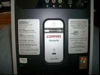 Compaq SR1214NX AMD Athlon 2900+ 1 gig of ram no hard
