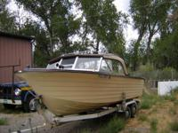 In great condition. Deep hull great for fishing up at