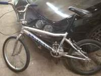 Haro group 1 dirt racing bike older bike . But still