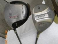 Tour sellect 7 fairway metal left hand with graphite