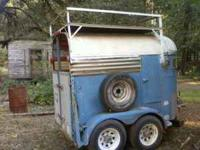 I have a 1953 Miley 2 horse trailer I no longer need.