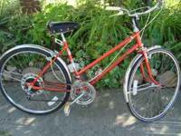Cool cruiser with shimano 10 speed components, rigida