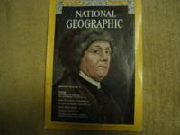 Hi, these are 5 older issues of National Geographic