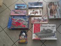 I have some older plastic models. $15-$40