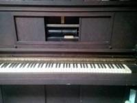 Older Lester gamer piano made in Philadelphia. The