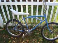 I have an older stingray style bike for sale. Not a