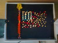 1999 LITE BRITE WITH BOX PAPER PEGS LIGHTS UP