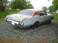 1970 olds cutlass s,body only,very little rust.call for