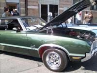 1970 Oldsmobile 442 Holiday Coupe finished in its