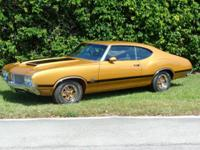 1970 Oldsmobile 442 W 30 This is a matching numbers car