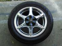 For sale are a set of 4 Oldsmobile Alero Wheels. They