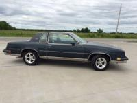 1986 olds cutlass supreme with 63,344 miles original