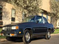 1987 Olds Cutlass Supreme Brougham edition. 307 V8