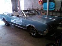 1967 Cutlass Supreme convertible. 83K miles, completely