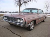 Options Included: 1962 Oldsmobile 98 Holiday Two Door